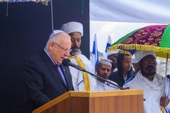 Sigd 2015 - διακοπές του αιθιοπικού Jewry Στοκ φωτογραφίες με δικαίωμα ελεύθερης χρήσης