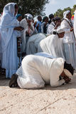 Sigd - эфиопские евреи Holyday Стоковое Изображение RF