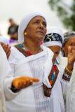 Sigd 2015年-埃赛俄比亚的Jewry的假日 库存图片