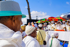 Sigd 2015 - holiday of the Ethiopian Jewry Royalty Free Stock Images