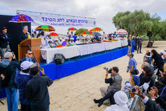 Sigd 2015 - holiday of the Ethiopian Jewry Stock Images
