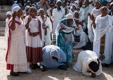 Sigd - judíos etíopes Holyday fotografía de archivo
