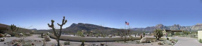 Sièges sociaux nationaux de région de conservation de canyon rouge de roche Image stock