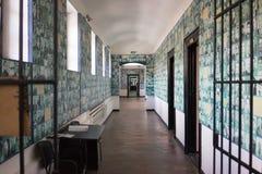 Sighet minnes- läger av politiska fångar Arkivbild