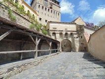 Sighishoara miasteczko Fotografia Royalty Free