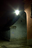 Sighisoara在晚上之前 免版税库存图片