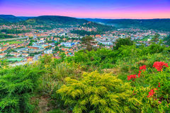Sighisoara,特兰西瓦尼亚,罗马尼亚,欧洲著名中世纪镇  免版税图库摄影