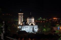 从Sighisoara,罗马尼亚的正统大教堂 免版税库存图片