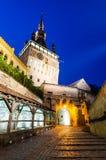 Sighisoara, πύργος ρολογιών Στοκ φωτογραφία με δικαίωμα ελεύθερης χρήσης
