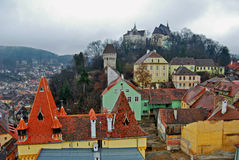 Sighisoara, Ρουμανία Στοκ εικόνα με δικαίωμα ελεύθερης χρήσης