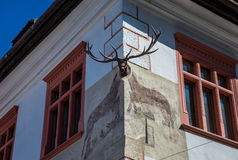 Sighisoara στη Ρουμανία Στοκ Εικόνα