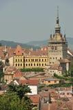 sighisoara города средневековое Стоковые Фото