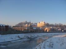 sighisoara крепости средневековое Стоковое Фото