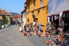 Sighisoara Royalty Free Stock Photos