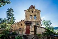 Sighisoara在罗马尼亚 库存照片