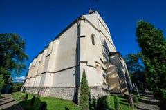 教会在Sighisoara 免版税库存照片