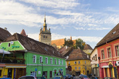 Sighisoara- architectural detail Stock Image
