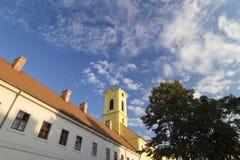 Sighisoara buildings Royalty Free Stock Photos