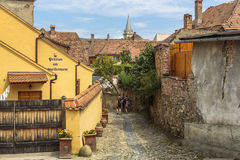 Sighisoara citadel, Romania Royalty Free Stock Image
