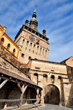 Sighisoara, Clock Tower Stock Image