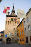 Sighisoara - The Clock Tower Royalty Free Stock Photo