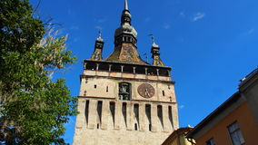 Sighisoara clock tower Stock Photography