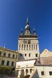 Sighisoara- Clock Tower Stock Photography