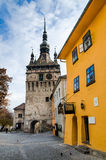 Sighisoara, Clock Tower Stock Images