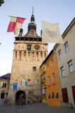 Sighisoara - der Glockenturm lizenzfreies stockfoto