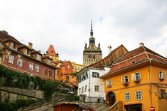 Sighisoara, Dracula's home town Stock Photos