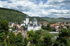 Sighisoara-Dreifaltigkeitskirche lizenzfreies stockbild