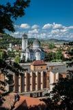 Sighisoara em Romênia Fotos de Stock