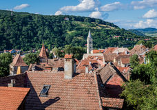 Sighisoara en Roumanie photo libre de droits