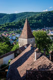 Sighisoara en Roumanie images libres de droits