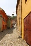 Sighisoara en Rumania imagen de archivo