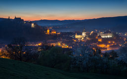 Sighisoara - evening view Stock Photo