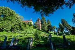 Sighisoara i Rumänien Arkivfoton