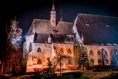 Sighisoara. Medieval church by the Teutonic Knights Royalty Free Stock Photos