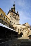 Sighisoara -medieval city Stock Photography