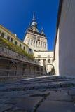 Sighisoara medieval city Stock Images