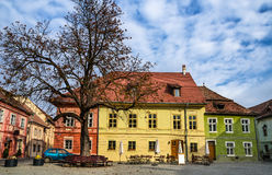 Sighisoara medieval city, Romania Royalty Free Stock Images
