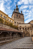 Sighisoara Medieval City, Romania Stock Images