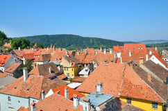 Sighisoara medieval city Royalty Free Stock Images