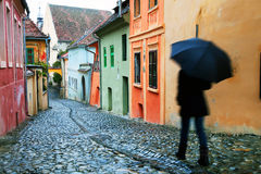 Sighisoara Medieval Fortress Stock Image