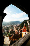 Sighisoara Medieval Fortress Stock Images