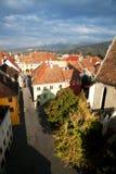 Sighisoara Medieval Fortress, Transylvania, Romani Royalty Free Stock Images