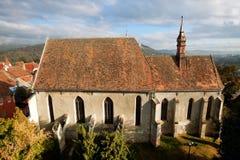 Sighisoara Medieval Fortress, Transylvania, Romani Stock Photography