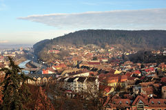 Sighisoara - medieval Romania's city Royalty Free Stock Images