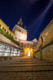 Sighisoara by night Royalty Free Stock Images