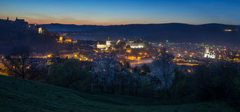 Sighisoara in night Royalty Free Stock Photography